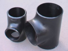 carbon steel tee fittings