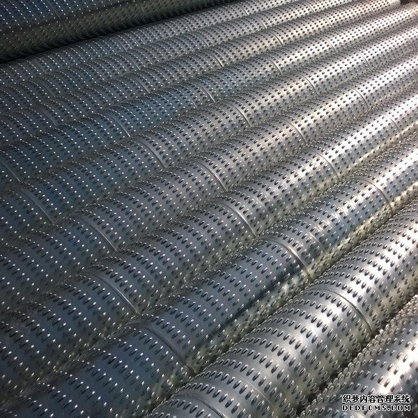ERW Low Carbon Galvanized Steel Digital Water Bridge Slot Screen Pipe